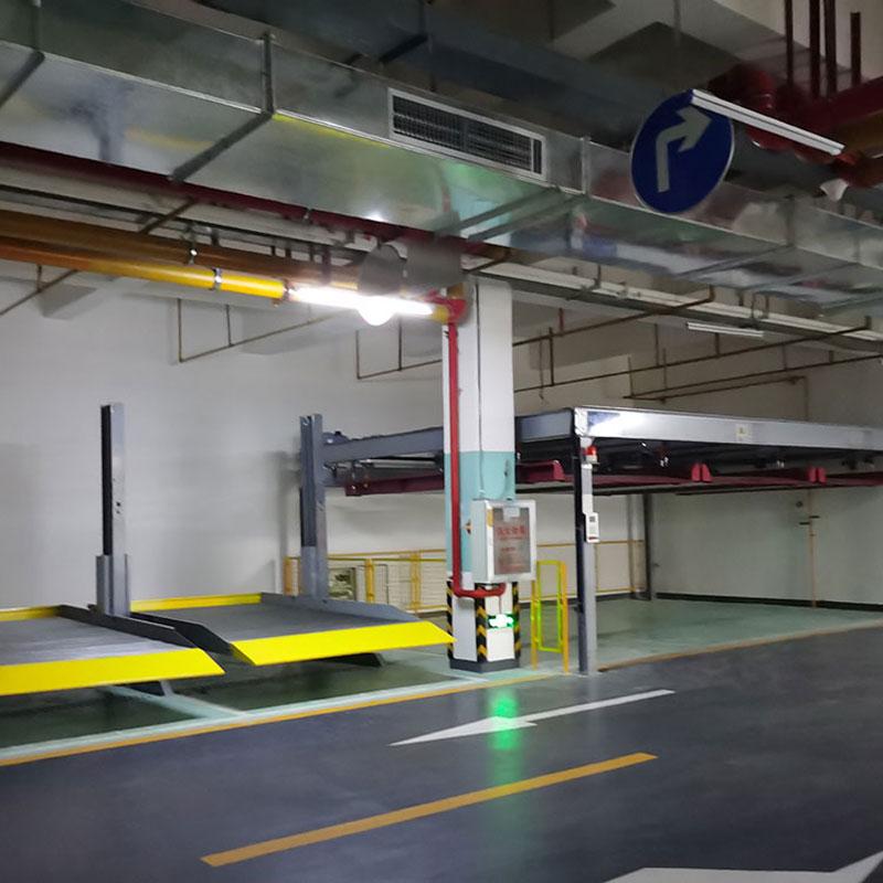 徽县机械式停车设备造价_两柱停车立体车库选购
