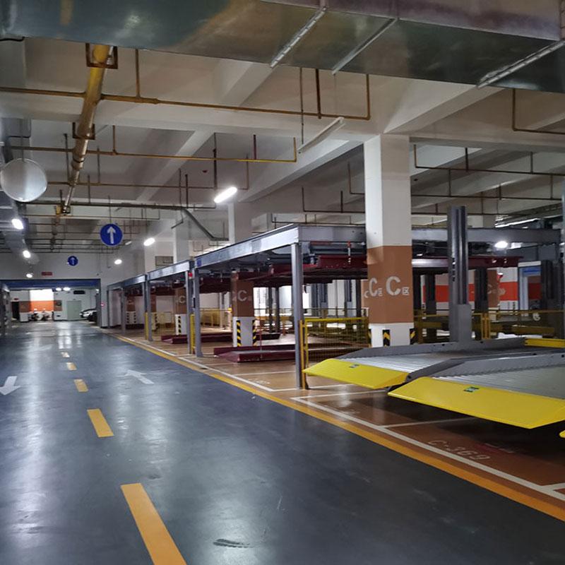南华县机械式立体停车设备租赁-PJS机械停车位过规划