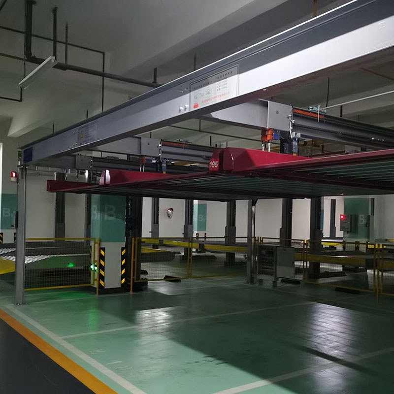 云南元阳三层立体车库租赁过验收_巷道堆垛立体停车制造