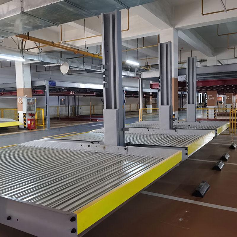 贵州安龙县机械立体停车设备租赁_四柱式机械停车场厂商