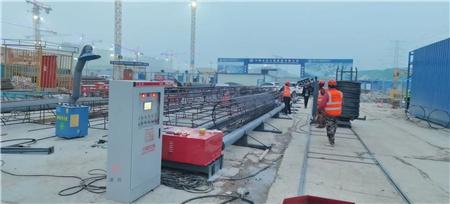 扬州全自动钢筋笼盘丝机操作视频