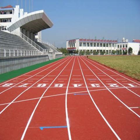 安阳滑县塑胶跑道施工的专业公司预制型塑胶跑道