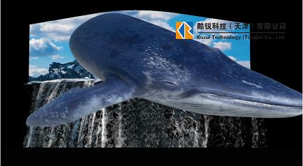 甘肃省陇南市裸眼3D橱窗创意片源制作案例展示
