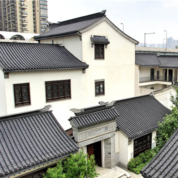 凤翔四合院小青瓦屋顶瓦有几种