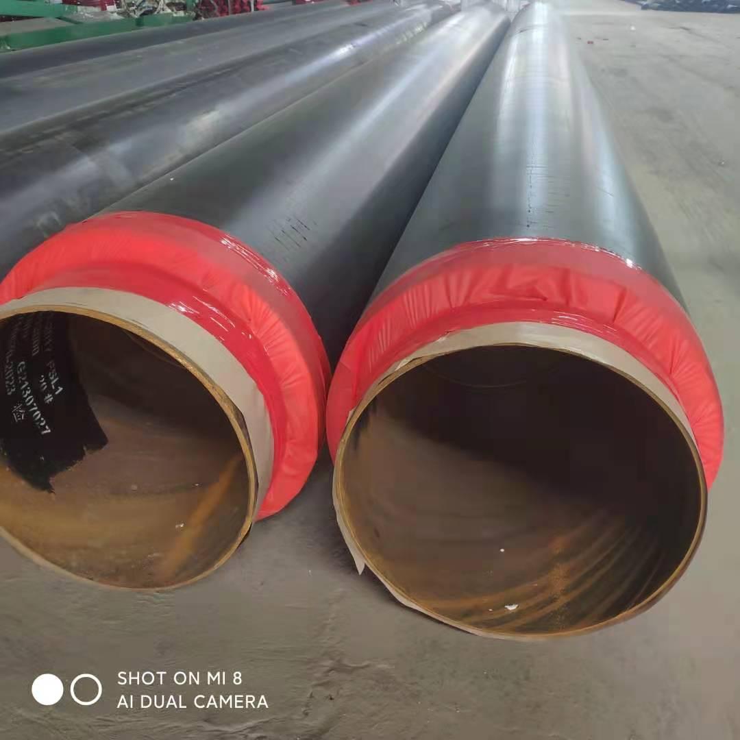 河南省洛阳市大口径饮用水管道3PEF螺旋钢管新价格