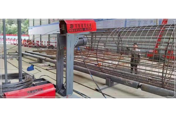 佛山钢筋笼盘丝机操作规程