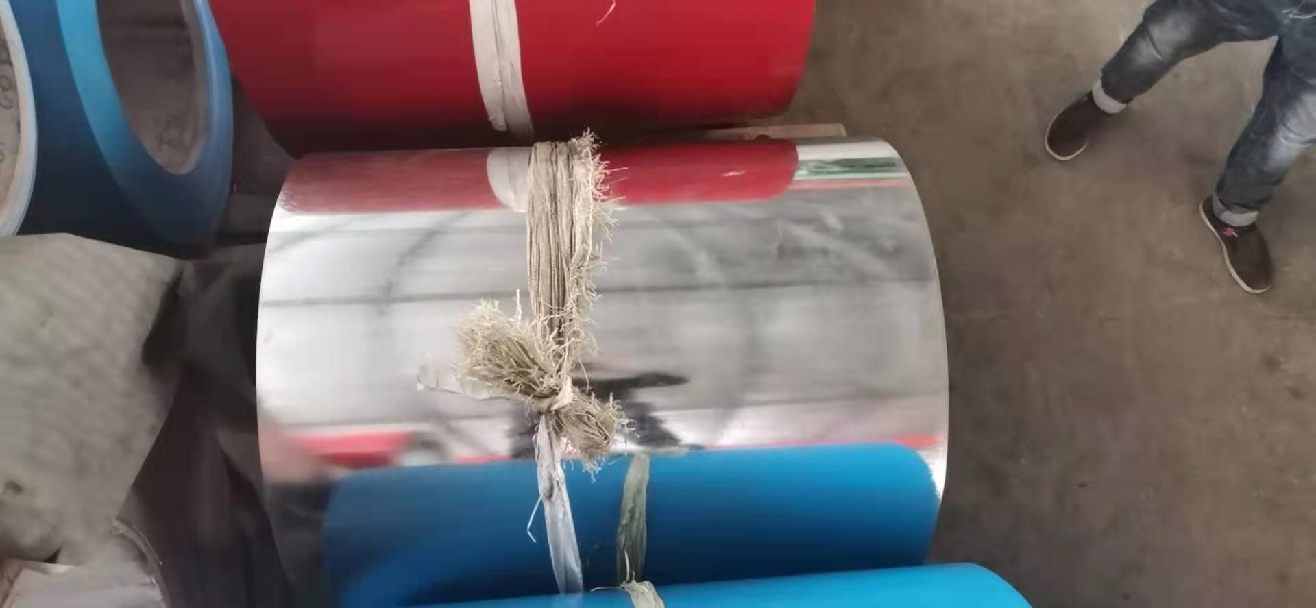 宁夏回族自治区中卫市彩色保温铝卷厂家销售橘皮花纹铝皮卷现货销售