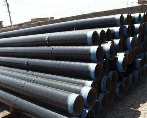 企业商讯D325*8mm环氧煤沥青防腐钢管过磅价格