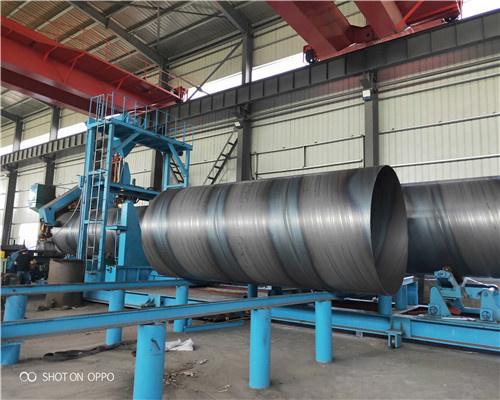 执行标准DN2800*16螺旋钢管出厂含税报价