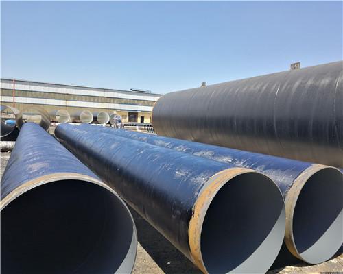 企业商讯D273*5mm三油两布防腐钢管过磅价格