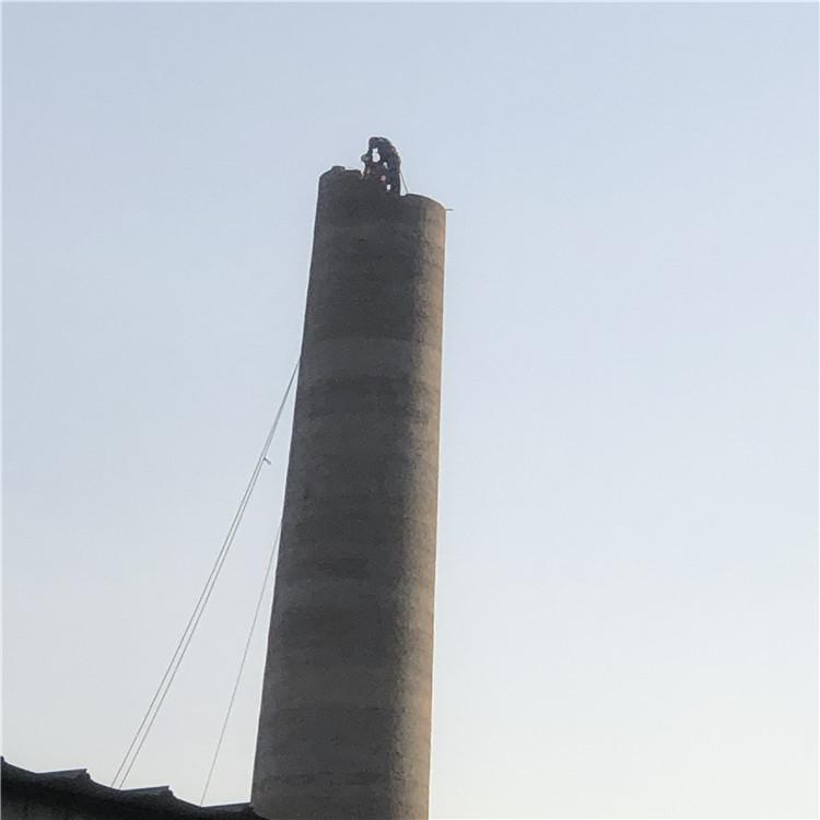 宿州市拆除砖烟囱公司&倒烟囱