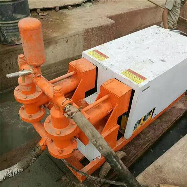 沁阳耐磨双缸液压砂浆注浆机