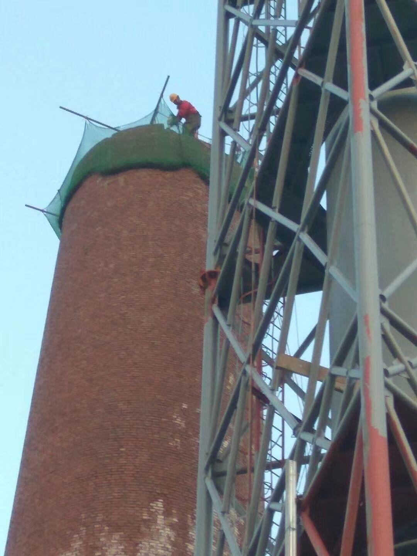齐齐哈尔拆除砖烟囱公司_拆烟囱公司报价——【华电高空】
