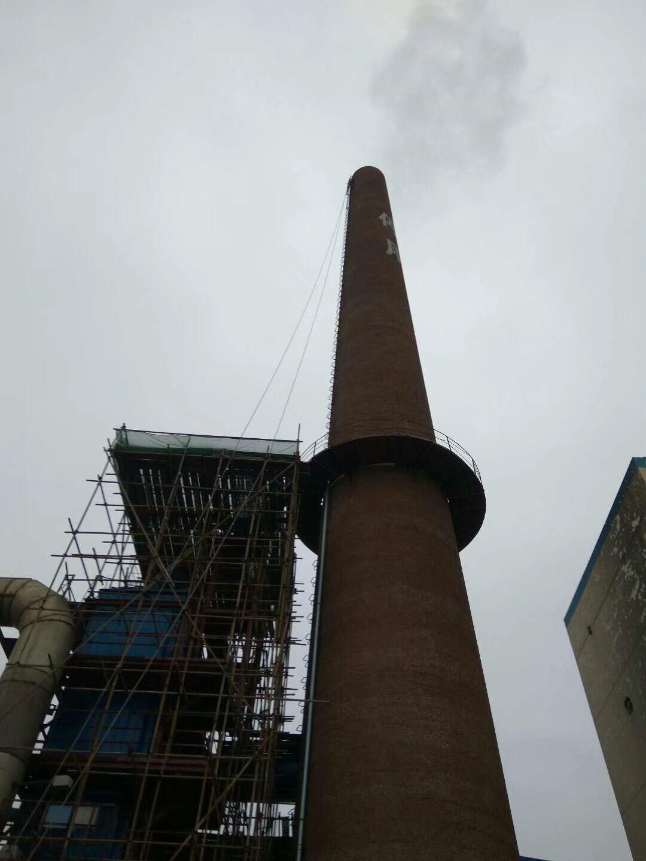 朔州45米烟囱拆除_烟囱拆除施工单位——【华电高空】