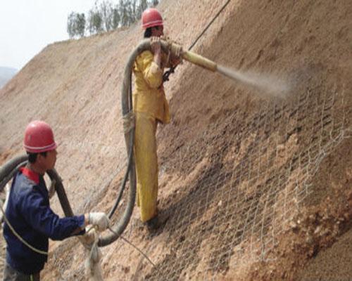 铜川边坡喷射混凝土施工工艺