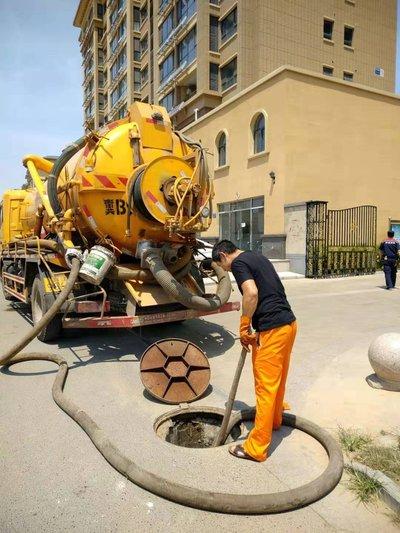 青岛城阳承包单位小区管道清洗清淤那里有