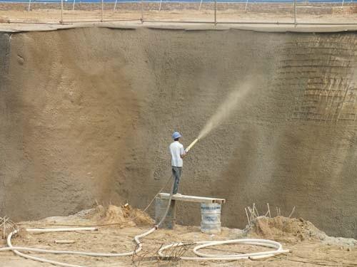 锡林郭勒盟房屋加固混凝土喷浆边坡喷锚怎么施工