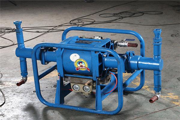 湖南岳阳矿用气动注浆泵2ZBQ50/7气动注浆泵