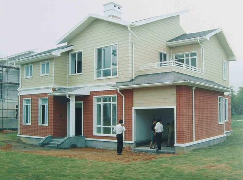 晋中灵石轻钢结构别墅出售