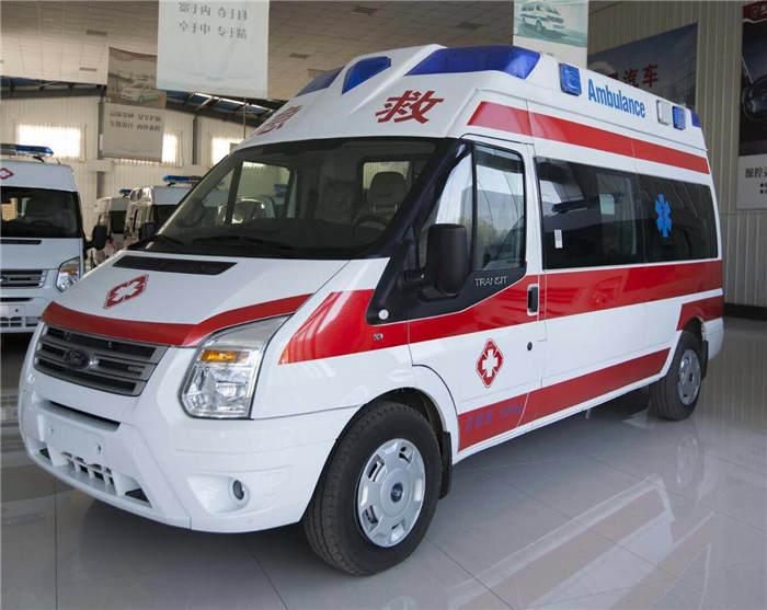 安康120救护车出租带呼吸机救护车随时出车