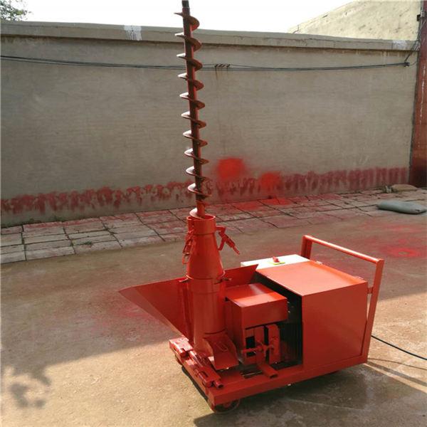 邓州小型二次构造柱泵上料机