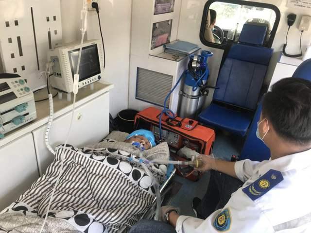 清远长途120救护车跨省转院出院-全程高速