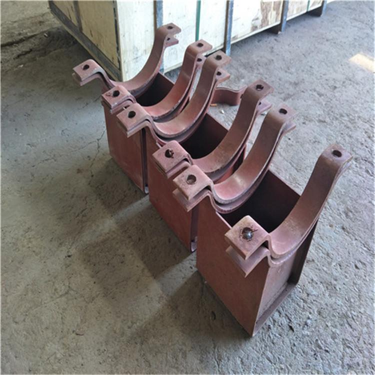 高明Z3.406管夹滑动支座加工