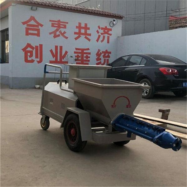 浙江温岭顶管水泥螺杆注浆泵注浆机
