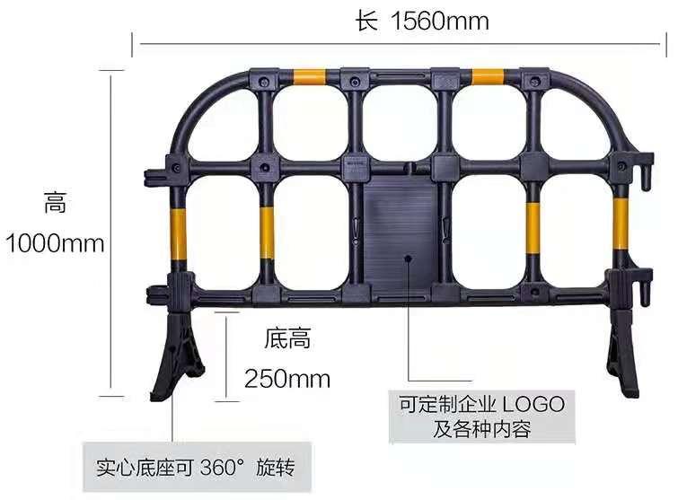 深圳塑料护栏-沙井塑料水马批发价多少钱