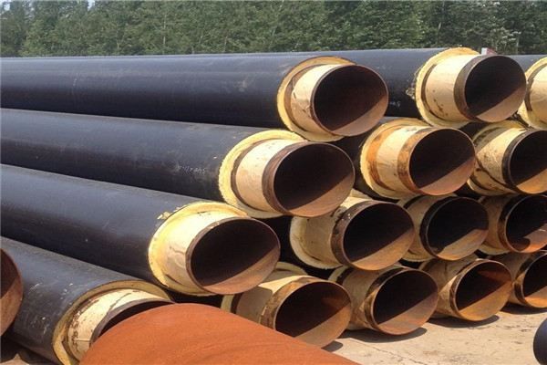 中卫市架空供暖133*5小区供暖保温钢管供应报价