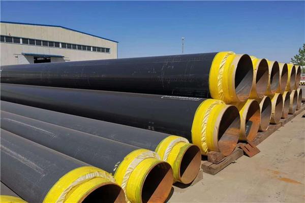 陇南市蒸汽管道钢套钢预制保温管生产加工价格
