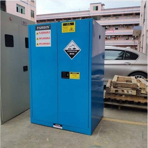 梅州梅县Pp强酸碱储存柜定制说明 / 双锁管控防爆柜款式
