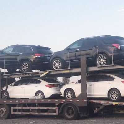 五家渠到肇慶汽車托運一輛車多少錢-吉運轎車托運