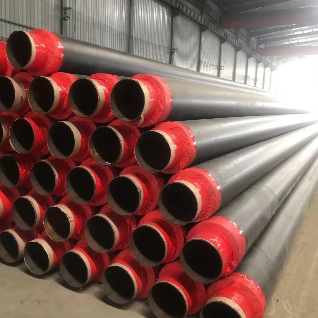 小区供暖用保温螺旋钢管定尺不定尺~·大连市