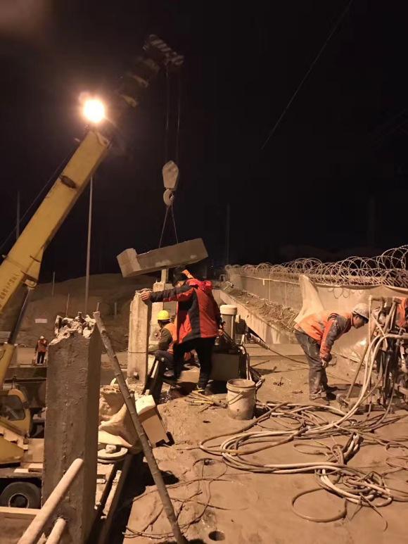 海安桥梁拆除#混凝土切割#绳锯切割