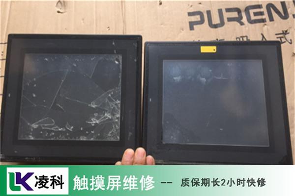 厂家公告:欧姆龙工业触摸屏按键不能用维修