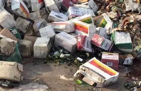 龙门县揽收过期产品销毁厂家在线报价