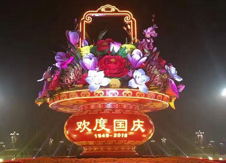 国庆绿雕预定中-72周年仿真绿雕2021钜惠中-【轩轩绿雕】