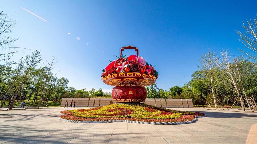 2021国庆绿雕预定中-72周年花坛制作-口碑好-报价低-【轩轩绿雕】