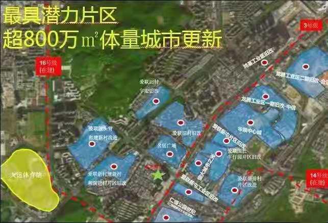 今日踩盤!深圳龍崗村農民房《愛聯壹號》詳情簡介。