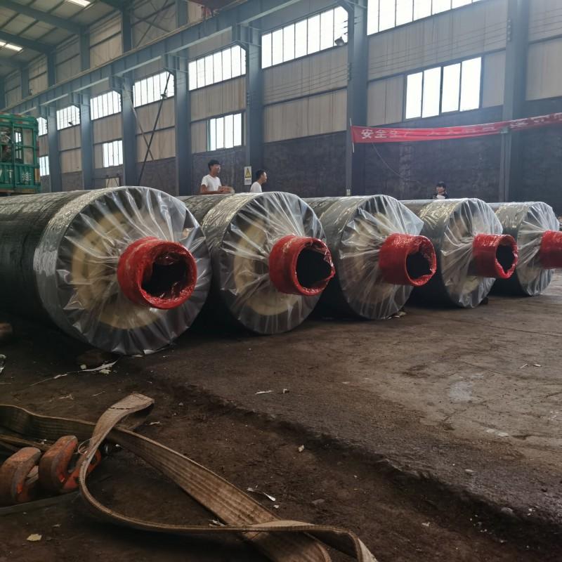 安徽省蚌埠市钢套钢直埋蒸汽保温管