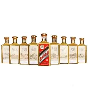 【明细】30年50年茅台酒瓶回收一览表
