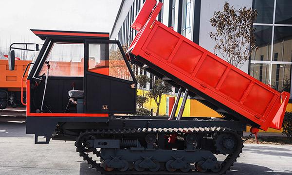 路橋橡膠履帶拉木頭車爬山虎2噸履帶運輸車