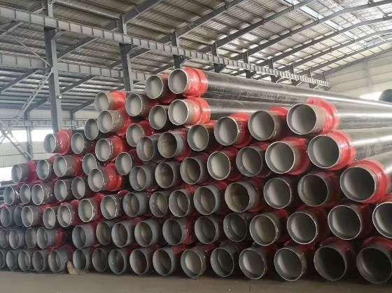 重庆市大渡口区供热常用钢套钢直埋保温管道生产厂家