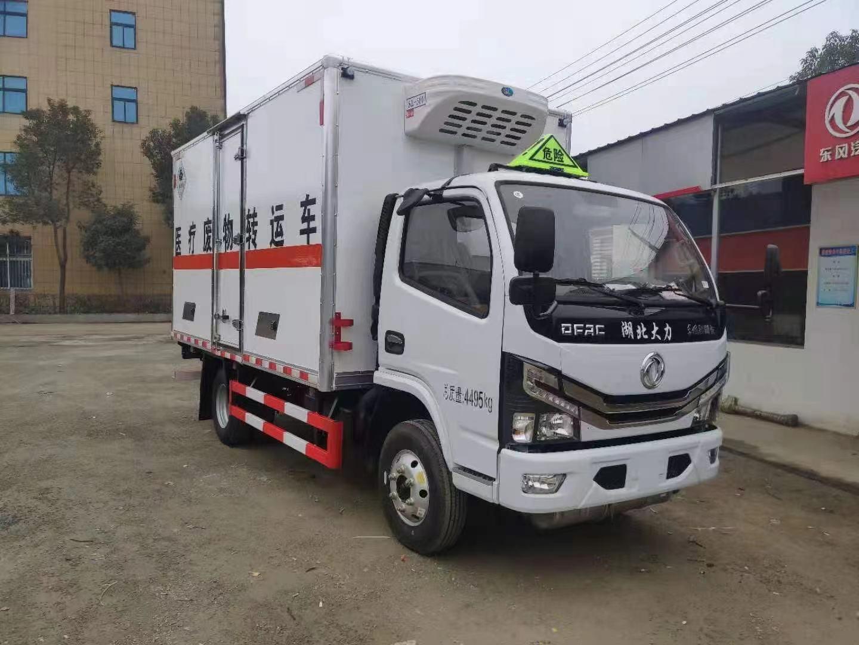 林口县天然气瓶运输车危险品车生产湖北江特车