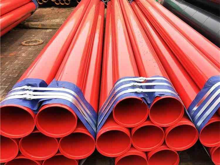 滁州市沟槽涂塑复合就钢管加工厂家-恒泰管道王工