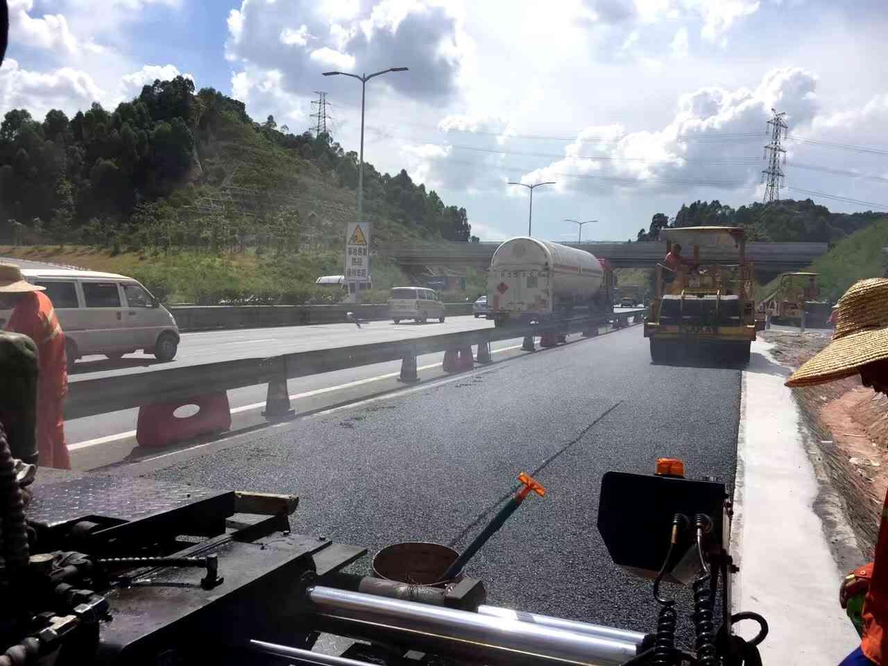 金金砂高速公路沥青施工包工包料
