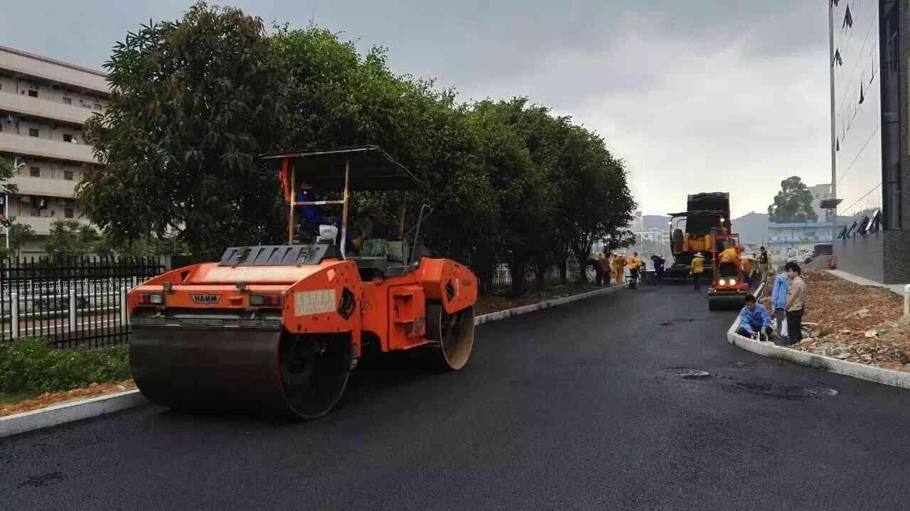 大埔三河绿道沥青路面施工包工包料