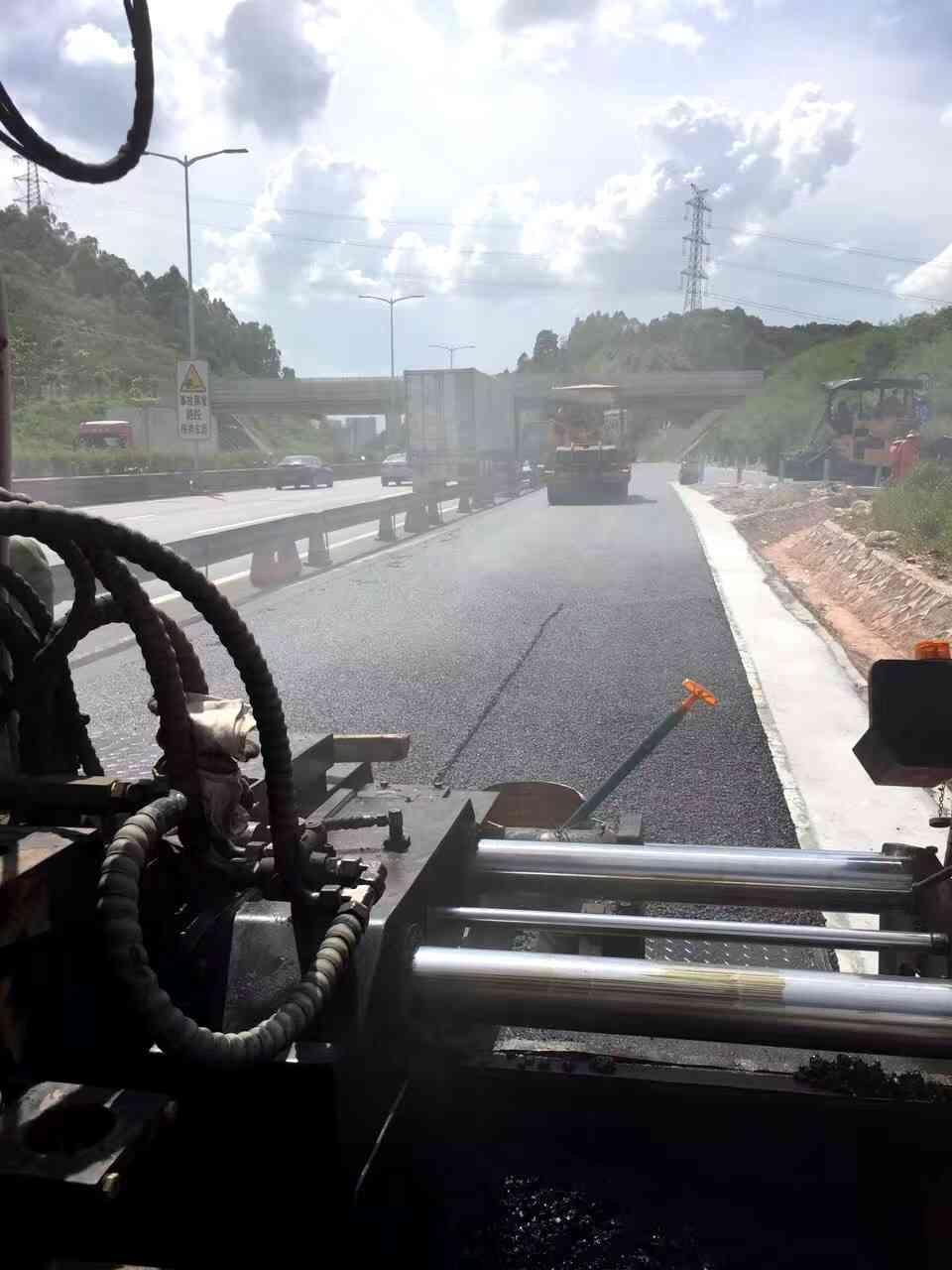 化州中垌路面沥青施工包工包料