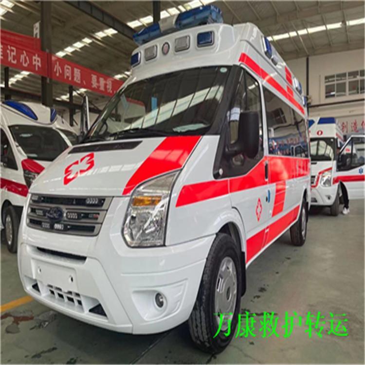营口救护车出租公司怎么收费